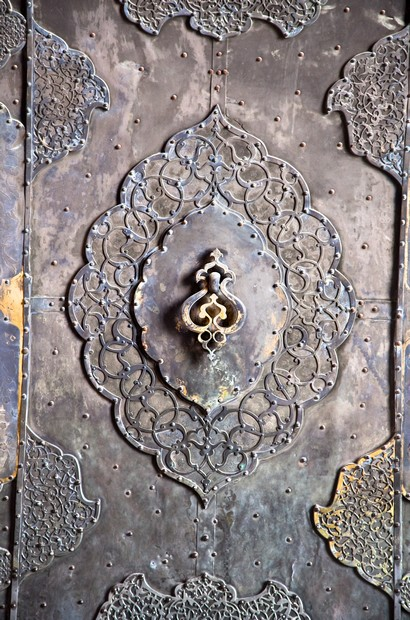 Bronze antique drawer door handle , Esfahan,Iran