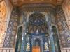 Interior of Sunni Shafeiha mosque in Kermanshah, Iran