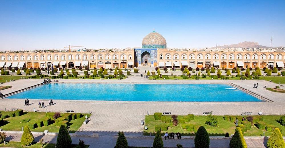 La mosquée du Cheikh Lotfallah à Isfahan