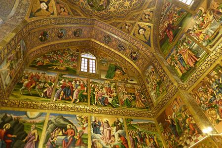 Eglise arménienne à Isfahan